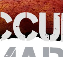 Occupy Mars - Tshirt  Sticker