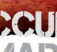 Occupy Mars - Tshirt  Sticker