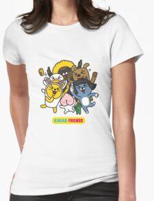 KakaoTalk Friends Womens Fitted T-Shirt