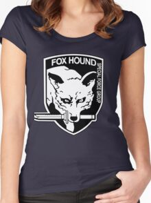 FOX HOUND Art Women's Fitted Scoop T-Shirt