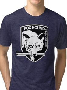 FOX HOUND Art Tri-blend T-Shirt