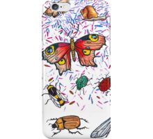 Butterfly & Insect Pattern iPhone Case/Skin