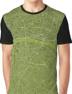 LONDON MAP, OCRA Graphic T-Shirt