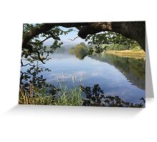 Derwent Water, Lake District National Park, UK Greeting Card