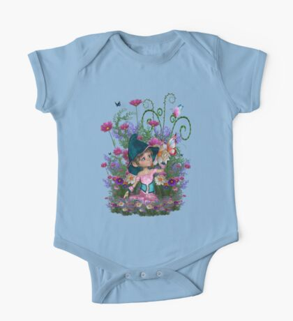 Fairy garden One Piece - Short Sleeve