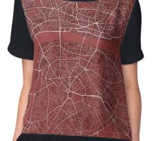LONDON MAP Chiffon Top