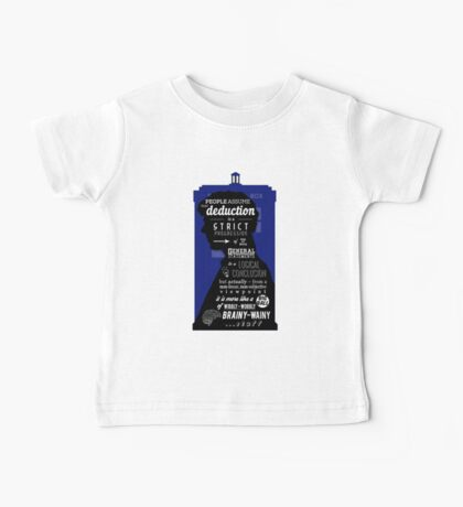 Wholock - A Study in Deduction Baby Tee