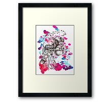 Happy animals 3 Framed Print