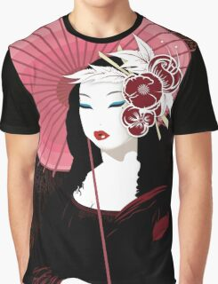 Fior Da Lisa - Geisha Mona Lisa Graphic T-Shirt