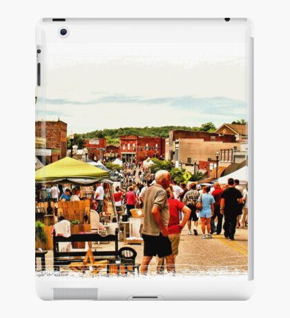 """""""Up and Down the Strip""""... prints and products iPad Case/Skin"""
