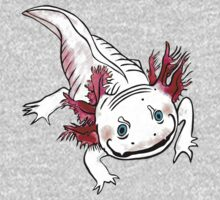 Adorable Axolotl One Piece - Long Sleeve