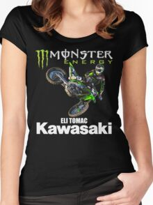 tomac #3 Women's Fitted Scoop T-Shirt