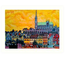 Cobh IV, Cork, Ireland Art Print