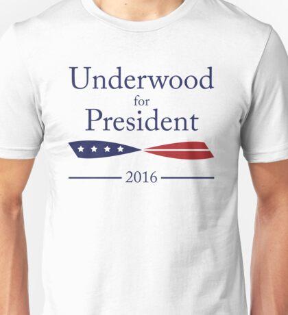 Vote Underwood. Unisex T-Shirt