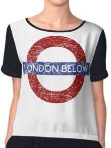 London Below Chiffon Top