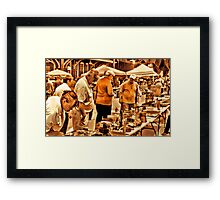 """The 8th Annual Clinch River Spring Antique Fair ""... prints and products Framed Print"