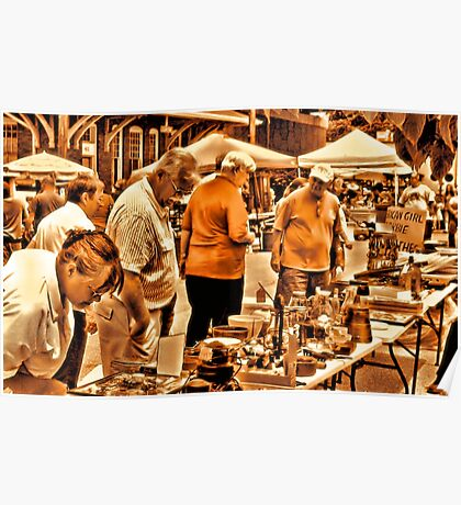 """The 8th Annual Clinch River Spring Antique Fair ""... prints and products Poster"