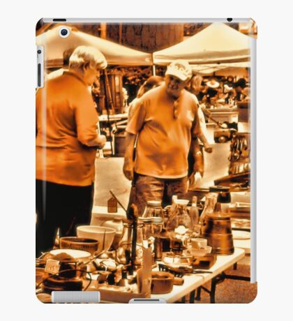 """""""The 8th Annual Clinch River Spring Antique Fair """"... prints and products iPad Case/Skin"""