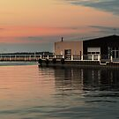 Sandusky Bay Reflections 3 by Shawna Rowe