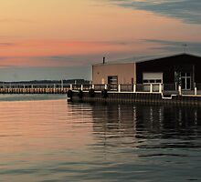 Sandusky Bay Reflections 3 by Shawna Rowe