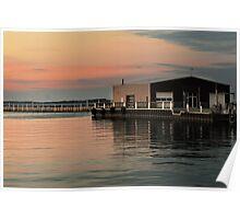 Sandusky Bay Reflections 3 Poster