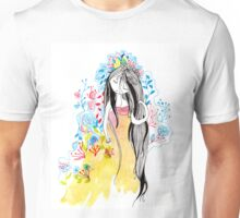 where ever the flowers goes Unisex T-Shirt
