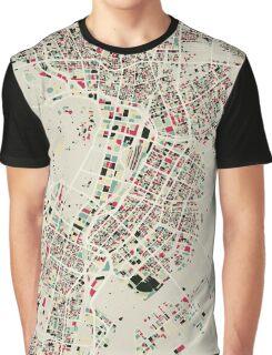 Retro Tokyo Map Graphic T-Shirt