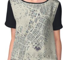 A Rainy Day in Tokyo Chiffon Top