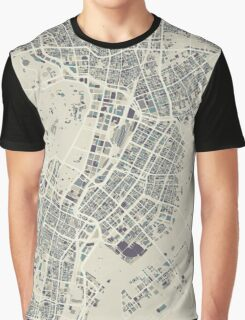 A Rainy Day in Tokyo Graphic T-Shirt