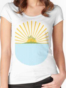 Summer Sun Women's Fitted Scoop T-Shirt