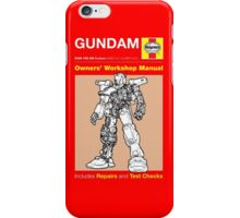Haynes Manual - Gundam - T-shirt iPhone Case/Skin