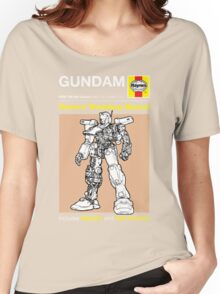 Haynes Manual - Gundam - T-shirt Women's Relaxed Fit T-Shirt