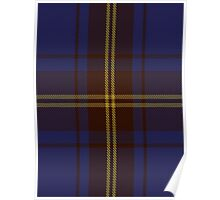 00354 Sligo County District Tartan Poster