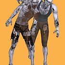 Good Friends, Zombie Style  by LoneAngel
