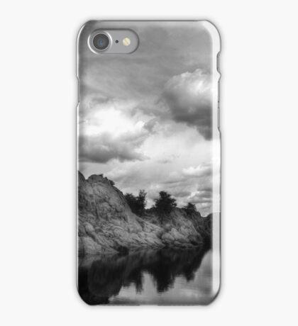 Dells Cloud Monochrome iPhone Case/Skin
