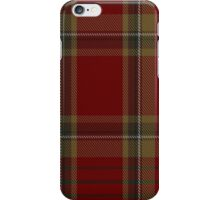 00358 Tyrone County District Tartan  iPhone Case/Skin