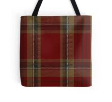 00358 Tyrone County District Tartan  Tote Bag