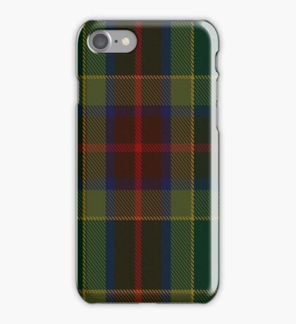 00361 Waterford County District Tartan iPhone Case/Skin