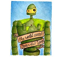 Laputa: Castle In The Sky Illustration - ROBOT Photographic Print