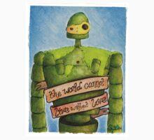 Laputa: Castle In The Sky Illustration - ROBOT One Piece - Long Sleeve