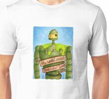 Laputa: Castle In The Sky Illustration - ROBOT Unisex T-Shirt