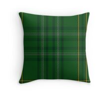00362 Wexford County (District) Tartan  Throw Pillow