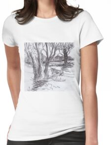 PARK BENCH(C2016) Womens Fitted T-Shirt