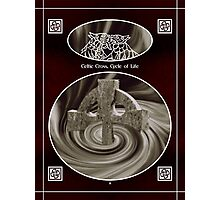 Celtic Cross Cycle of Life Photographic Print