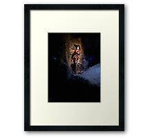 They do tell tales  Framed Print