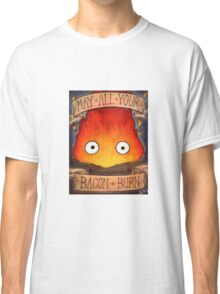 Studio Ghilbi Illustration: CALCIFER #3 Classic T-Shirt