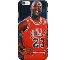 Michael Jordan painting iPhone Case/Skin