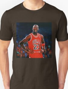 Michael Jordan painting T-Shirt