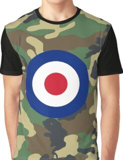 Camouflage RAF Graphic T-Shirt