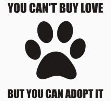 Adopt Love Kids Tee